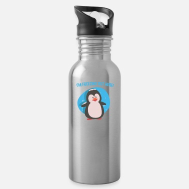 Freeze Freeze Out There - Water Bottle