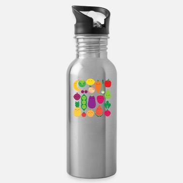 Eating fruit vegetables - Water Bottle