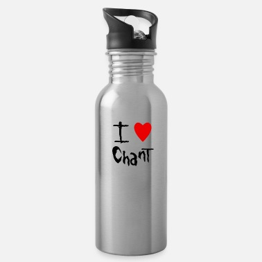 Chant Chant I love - Water Bottle