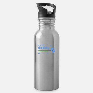Pregnant project daddy pregnant family announcement gift - Water Bottle