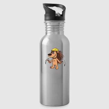 Mountain Climbing Climb Climbing Mountain - Water Bottle