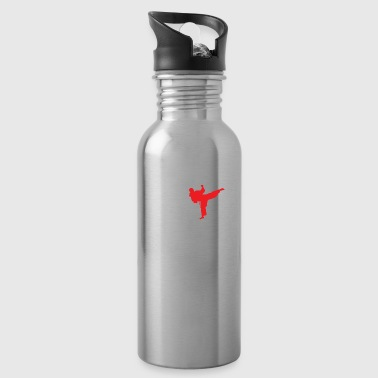 Chinese New Year Kung Fu Kicks Chinese Martial Arts - Gift Idea - Water Bottle