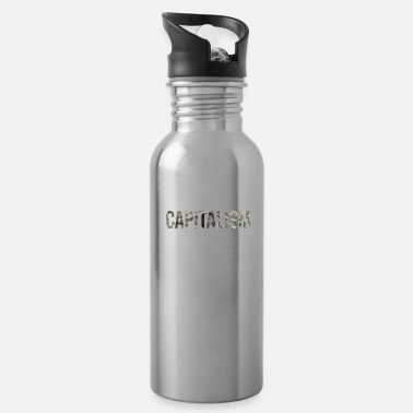 Dollar Sign CAPITALISM - Water Bottle
