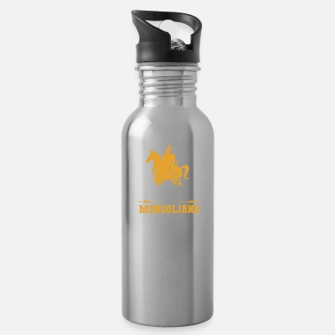 New-grandpa Ancestors My Ancestors were Mongolians - Gift Idea - Water Bottle