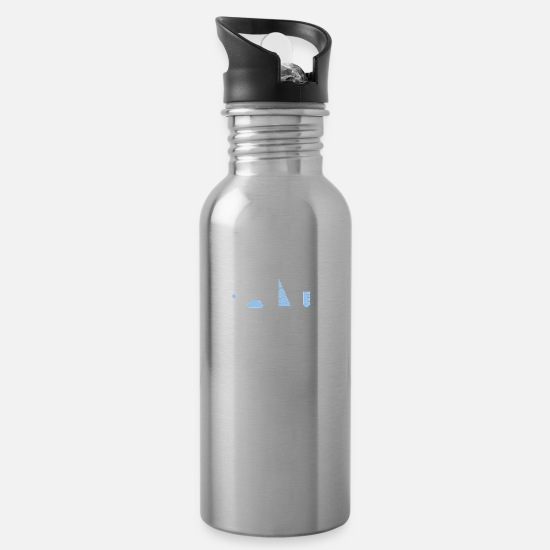 Movie Mugs & Drinkware - SCIENCE CARE - Water Bottle silver