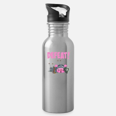 Defeat Defeat pig Knight sword - Water Bottle