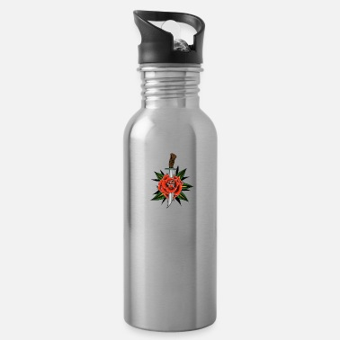 Pinup Rose - Water Bottle