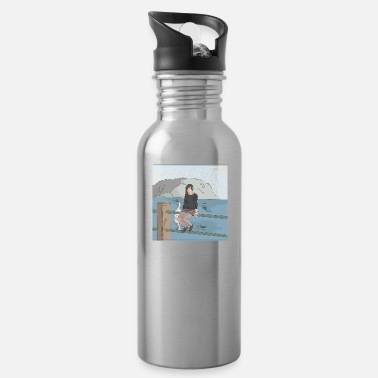 Asian Asian Girl - Water Bottle