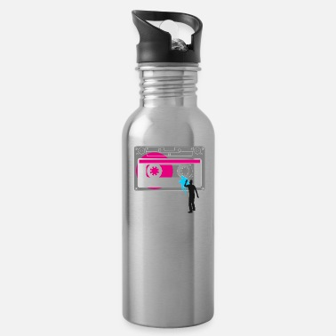 tape graffiti urban sprayer ba - Water Bottle