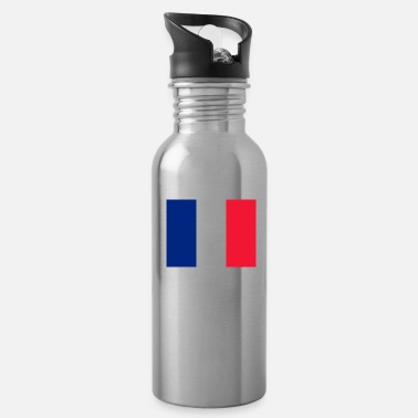 Gps Flag of Guadeloupe (gp) - Water Bottle