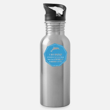 Mammal save marine mammals - Water Bottle