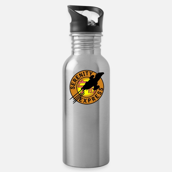 Serenity Mugs & Drinkware - Serenity Express - Water Bottle silver
