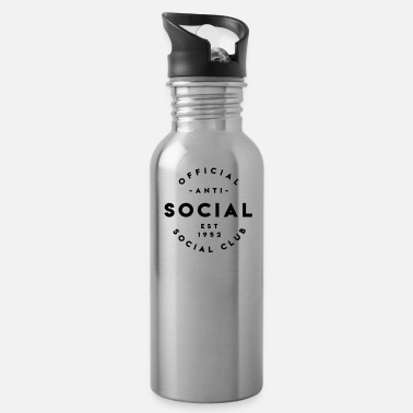Social Anti Social Social Club - Water Bottle