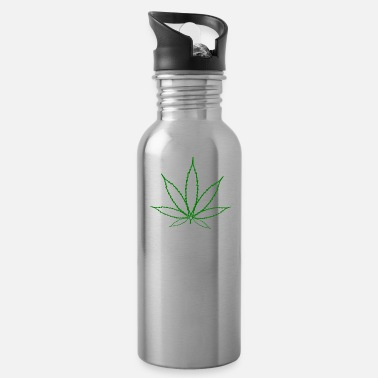 Hemp Leaf Hemp Leaf - Water Bottle