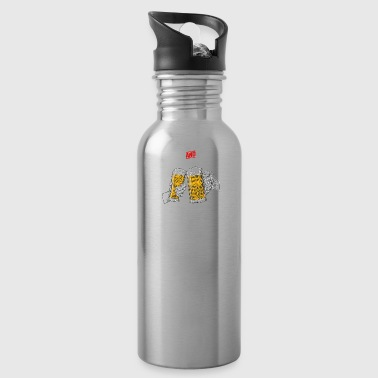 cheers and beers 40 years - Water Bottle