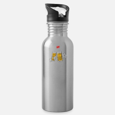 40 Years cheers and beers 40 years - Water Bottle