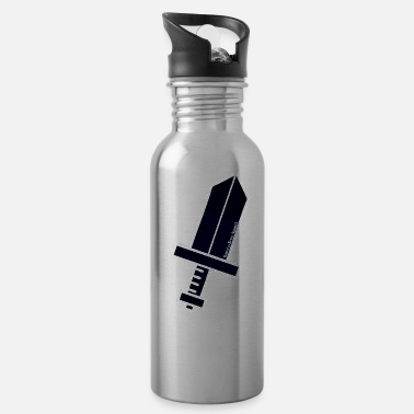 "Ramseys Retro Apparel ""Ramseys HERO'S SWORD"" - Water Bottle"