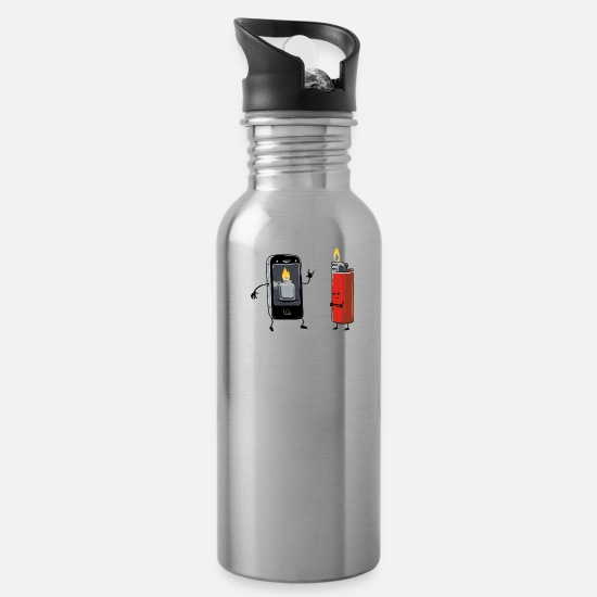 The Office Mugs & Drinkware - Concerts will never be the same - Water Bottle silver