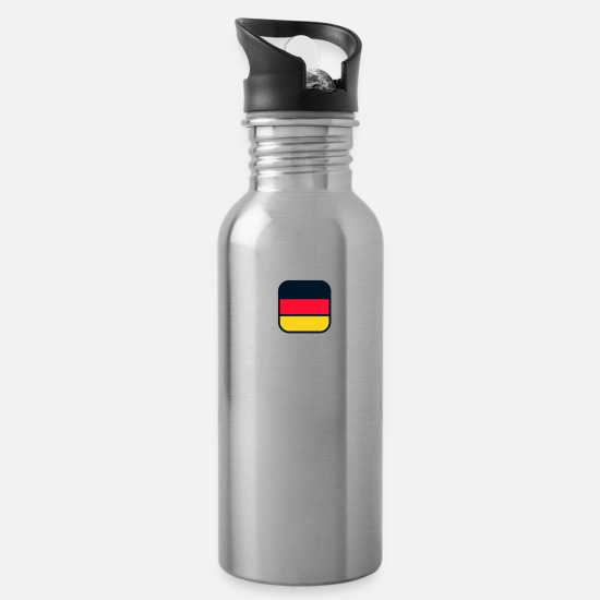 Germany Mugs & Drinkware - germany - Water Bottle silver