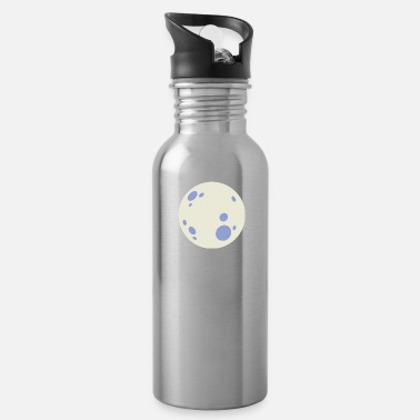 Moon moon,moon tshirt,full moon - Water Bottle