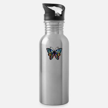 Wildlife butterf 39 - Water Bottle