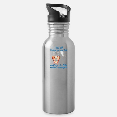 Stand STAND WITH STANDING ROCK NODAPL - Water Bottle