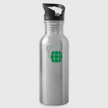 Hand Grenade A Hand Grenade - Water Bottle