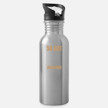 Love You So Good Can Man With 50 Appearance 3 50 Birthday H - Water Bottle