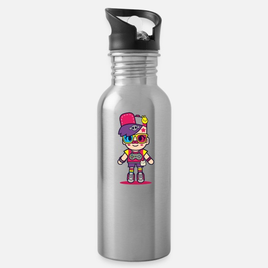 Movie Mugs & Drinkware - Super Colour - Water Bottle silver