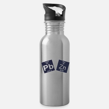 Heavy Funny Chemistry Design Heavy Metals - Water Bottle