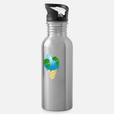 Enviromental Climate Change is Real. - Water Bottle