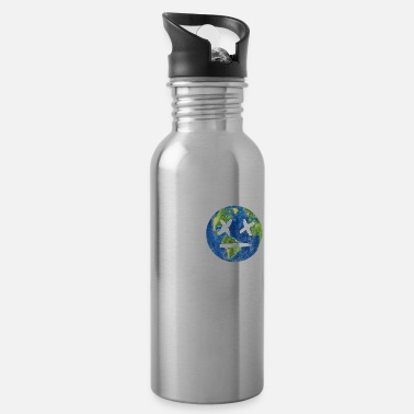 Save The Planet There Is No Planet B | Nature Earth Planet Gift - Water Bottle