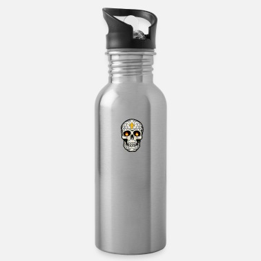 Cuisine Mexican Cuisine Skull - Water Bottle