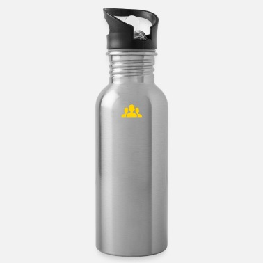 Social Network Social Networks Make Stalking Easier! - Water Bottle