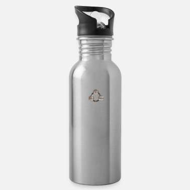 Wildlife Wildlife-Land-People Design - Water Bottle