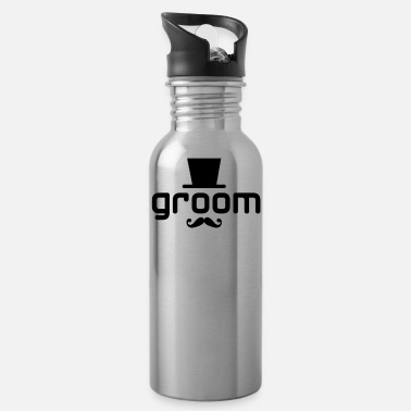 Groom groom - Water Bottle