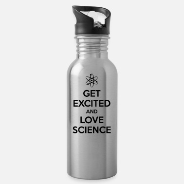 Miscellaneous Get Excited and Love Science - Water Bottle