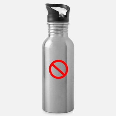 Weekend scolded me - mobile phone white - Water Bottle