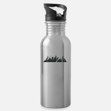 Streetball skyline - for B-Baller - Water Bottle