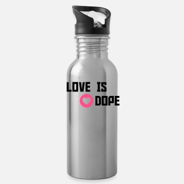 Cuore love is dope - Water Bottle