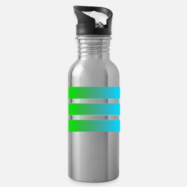 Rectangle simple geometric motif - Water Bottle