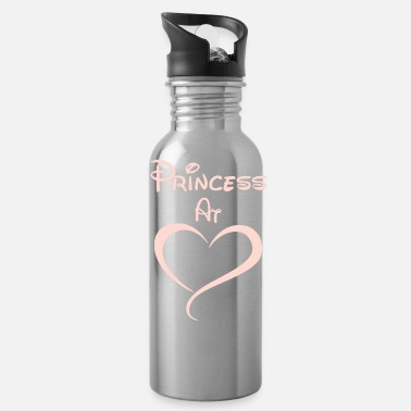 Princess At Heart - Water Bottle