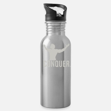 Conquer conquer - Water Bottle
