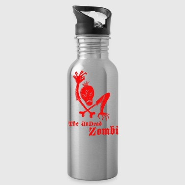 The undead zombi - Water Bottle