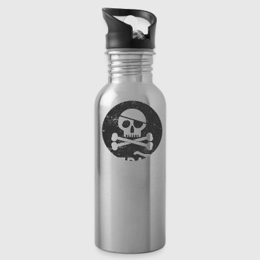 Pirate Skull Pirate Skull PiRate Teacher - Water Bottle