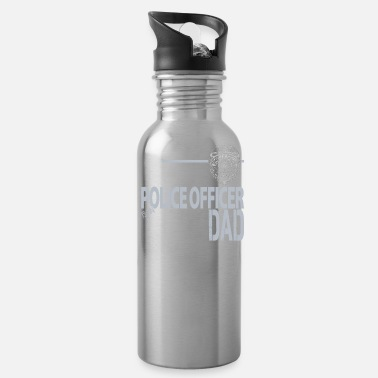 Police Department Seattle Police Department Dad Washington Police Dad - Water Bottle