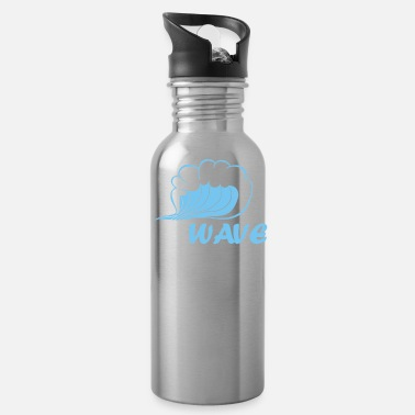 Wave wave - Water Bottle