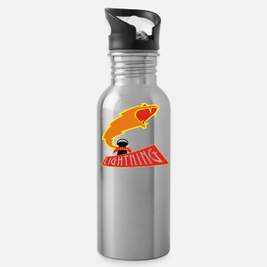 Tesla Lightning The History League - Water Bottle