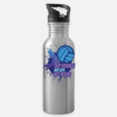 Beach Volleyball Volleyball Beach Volleyball Sports Player Gift - Water Bottle