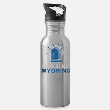 Cop Wyoming Police Gear For Kids Police For Kids - Water Bottle